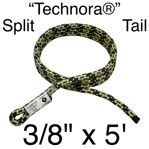 "Spyder Manufacturing Split Tail Technora 3/8"" X 5"" (60"")"