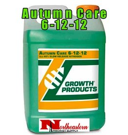 Growth Products Autumn Care 6-12-12 will prepare trees and shrubs for the stresses of winter