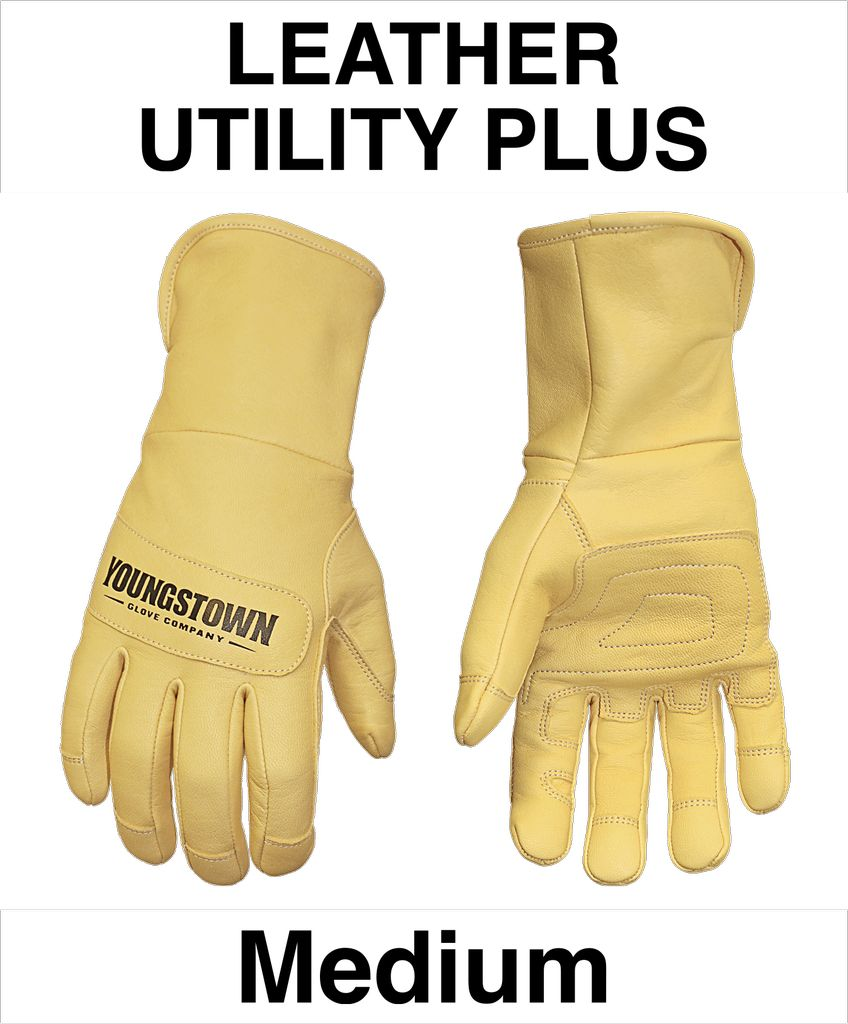 Youngstown Gloves Leather Utility Plus