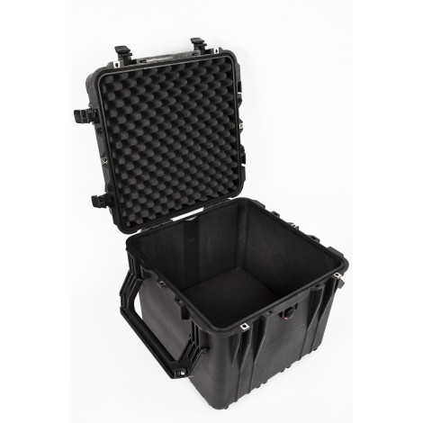 PORTABLE WINCH CO. Case, Waterproof and airtight with removable casters and folding top handle for winches and accessories