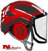 PROTOS Protos arborist helmet Black and Red