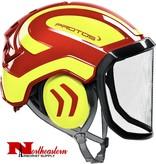 PROTOS  Helmet, Protos Arborist,  from Pfanner, Red & Yellow