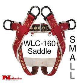 """Weaver Saddle WLC-160 with 2"""" Nylon Leg Straps, Small"""