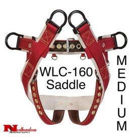 "Weaver Saddle WLC-160 with 2"" Nylon Leg Straps, Medium"