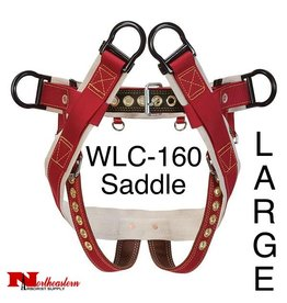 "Weaver Saddle, WLC-160 with 2"" Nylon Leg Strap, Large"