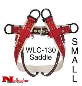 Weaver Saddle WLC-130 with Heavy-Duty Coated Webbing Leg Straps, Small