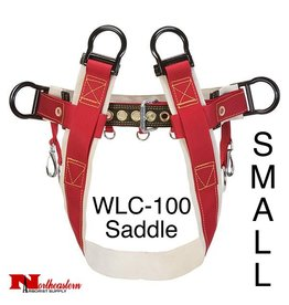 Weaver Saddle WLC-100 4-Dee Single Thick No Leg Straps Small