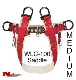 Weaver Saddle WLC-100 4-Dee Single Thick No Leg Straps, Medium