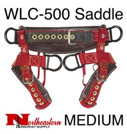 Weaver Saddle, WLC-500 with Padded Nylon Leg Straps Size Medium