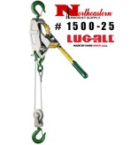 LUG-ALL Model 1500-25, 3/4 Ton Cable Hoist