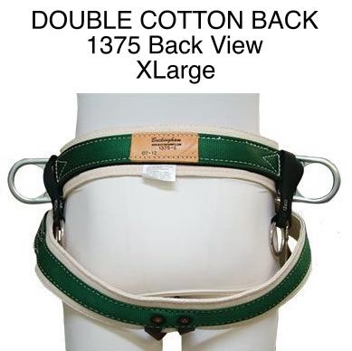 Buckingham Saddle, DOUBLE COTTON BACK #1375 Extra Large