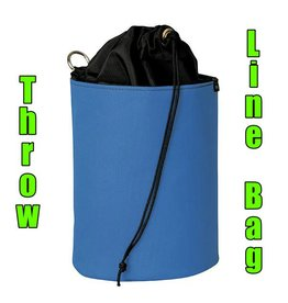 Weaver Throw Line Storage Bag, Medium, Blue