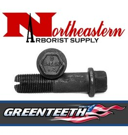 "Greenteeth® Bolt, Allen Head, 2+1/2"" for 1+1/2"" Wheel Hex Head for Green Pockets"