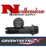 "Greenteeth® Greenteeth®, Bolt, Allen Head, 3"" for 1+1/2"" Wheel Hex Head for Green Pockets"