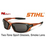 STIHL® Two-Tone Work Glasses with Smoke Lens