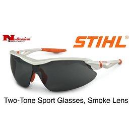 STIHL® Two-Tone Sport Glasses with Smoke Lens