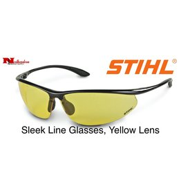 STIHL® Sleek Line Safety Glasses with Yellow Lens