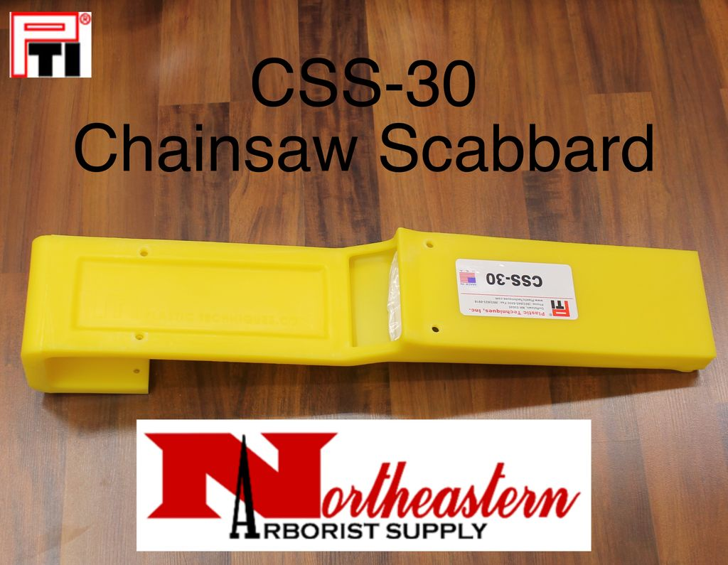 PTI CSS-30 Chainsaw / Bucket Scabbard, Hang from Inside or Outside of Bucket