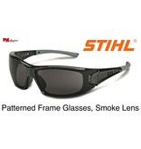 STIHL® Patterned Frame Glasses Smoke Lens