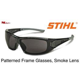 STIHL® Patterned Frame Glasses with Smoke Lens