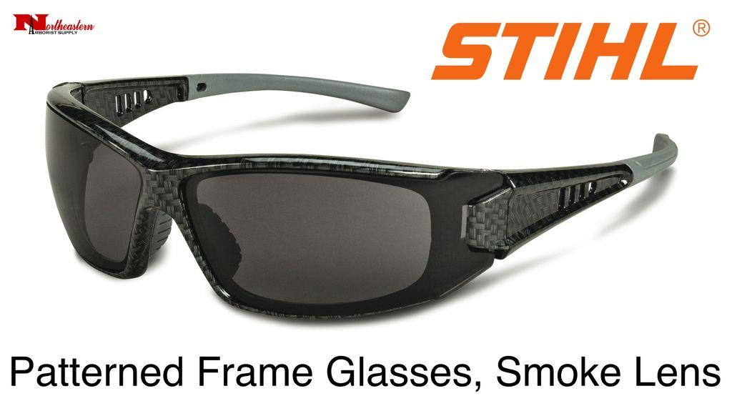 STIHL® Patterned Frame Glasses Smoke Lens