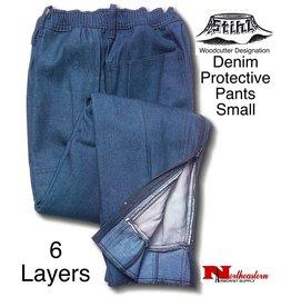"STIHL® Chain Saw Protective Pants ""Denim"" 6-Layer"