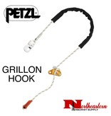 Petzl GRILLON HOOK 3 m, Adjustable work positioning lanyard with HOOK connector