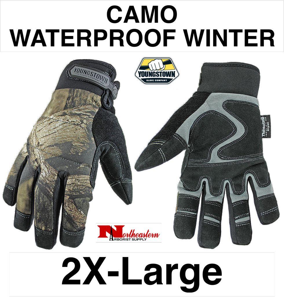 Youngstown Gloves Camo Waterproof Winter