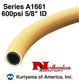 "Kuriyama Hose,  600psi 5/8"" ID, Yellow, per Foot"