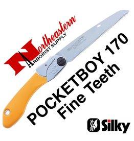 SILKY PocketBoy Folding Saw, 170mm, Fine Teeth