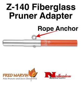 Fred Marvin Z-140 Fiberglass Pruner Adapter with Rope Anchor Loop