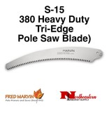 Fred Marvin Fred Marvin Pole Saw Blade, 330 Tri-edge S-15