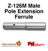 Fred Marvin Z-126M Male Pole Extension Ferrule