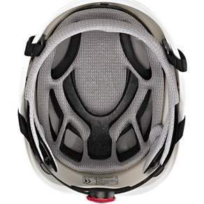KASK Red Plasma Work with Adapter for Ear Defenders