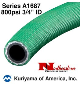 "Kuriyama Hose,  800 psi 3/4"" ID Green"