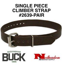 Buckingham Climber, Single piece nylon straps (Pair)