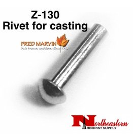 "Fred Marvin Pruner Head Rivet, 3/16"" x 7/8"" Z-130"