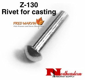 "Fred Marvin Pruner Head Rivet, 3/16"" x 7/8"""
