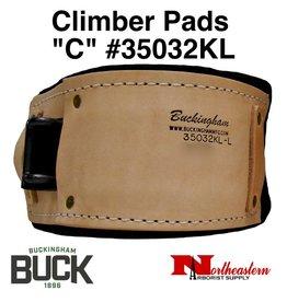 "Buckingham Climber Pads , ""C"" Fits Klein"