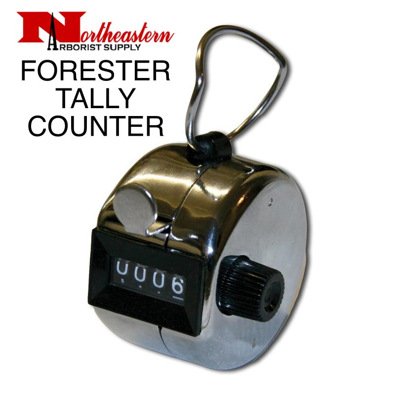 Forester Tally Meter /Hand Counter 4 DIGIT