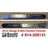 Bandit® Parts Anvil Gauge & Belt Tension Tool Models 65-250, 914-300131