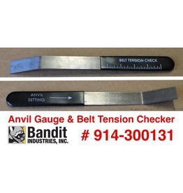 Bandit® Parts Anvil Gauge & Belt Tension Tool Disk Models 65-250, 914-300131