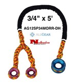 "All Gear Inc. All Gear, Inc. Sling, Ring to Ring with Double Head, 3/4"" x 5'"
