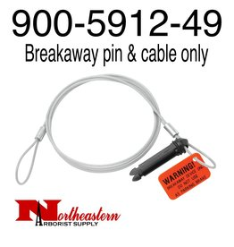 Bandit® Parts Breakaway pin & cable ONLY for 12v break away switch (900-5912-49)