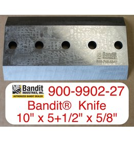 "Bandit® Parts Knife for M1890 AFTER 11/01/99, 1590,  18XP 19XP, 10"" x 5+1/2"" x 5/8"" - 5 Hole"