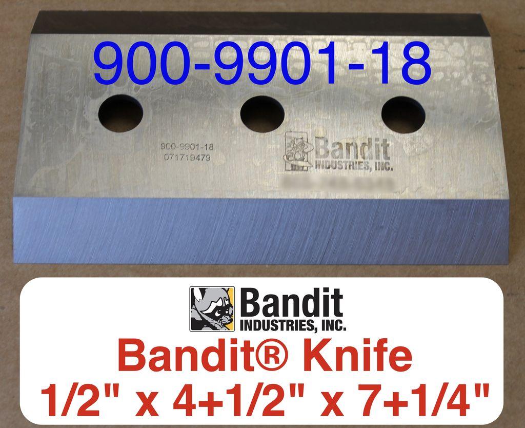 "Bandit® Parts Knife 5/8"" Bolt Hole x 1/2"" Thick x 7-1/4"" x 4+1/2"" - 900-9901-18"