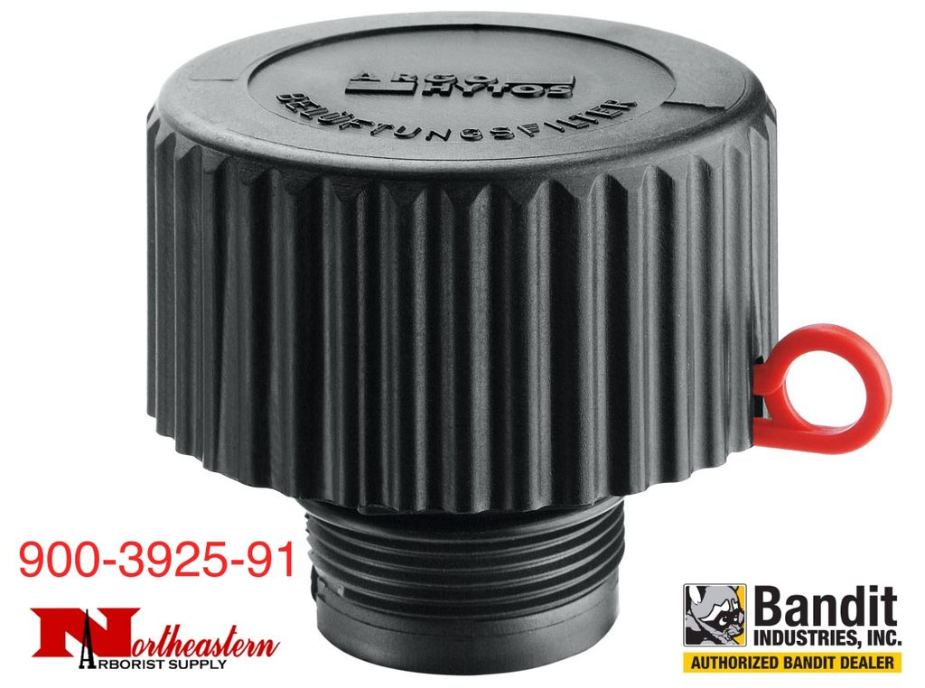 Bandit® Parts Hydraulic Tank Cap, SCREW ON, Vented