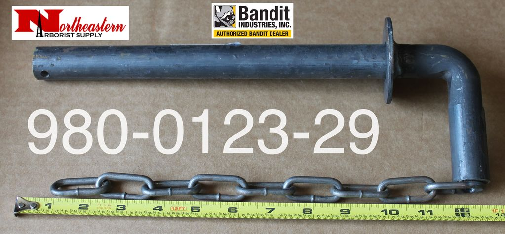 Bandit® Parts Hood Pin With Attaching Chain 980-0123-29