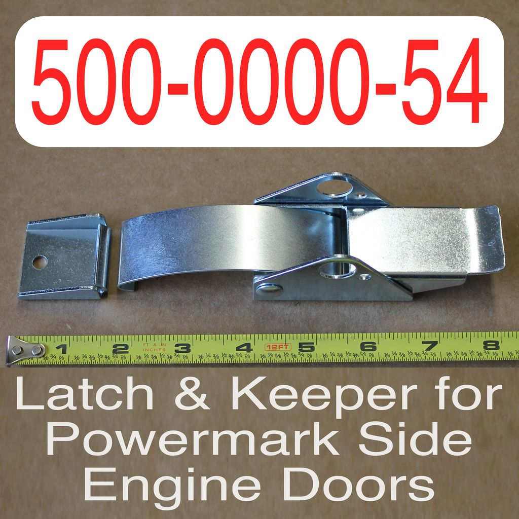 Bandit® Parts Latch & Keeper for Powermark engine covers 500-0000-54