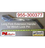Bandit® Parts Long Fork Extension Handle for Winch Lock Pin 955-300377
